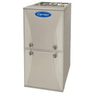 Carrier Comfort 95 gas furnace.