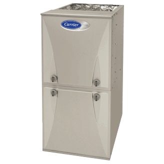 Carrier Performance 90 gas furnace.