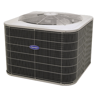 Carrier Comfort 14 coastal heat pump.