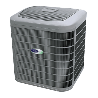 Carrier Infinity 16 coastal heat pump.