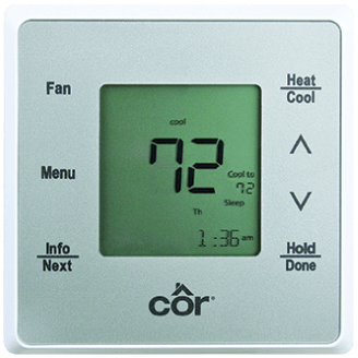 Côr® 5 Thermostat.