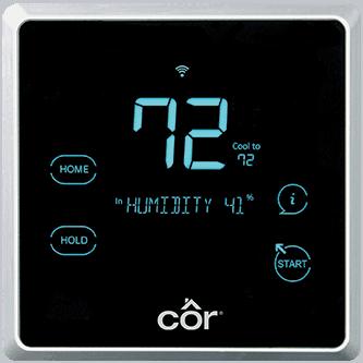 Côr® 7C Wi-Fi® Thermostat.