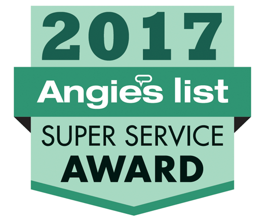 Angies List 2015 Super Service Award.